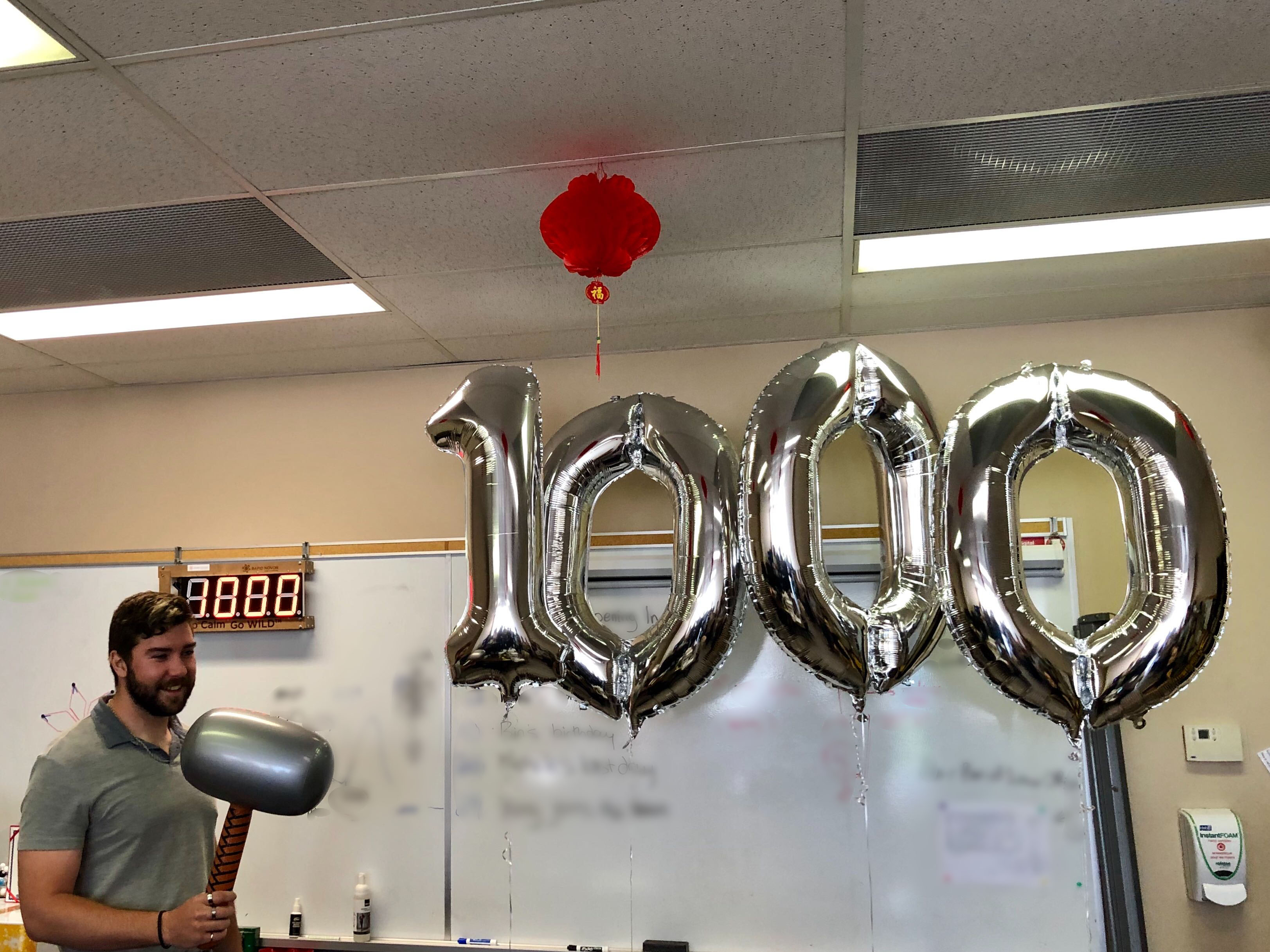 Milestone: 1000 Protein Sequencing & Discovery Projects